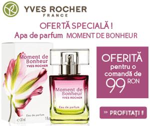 CADOU Apa de parfum Moment de Bonheur la Yves Rocher