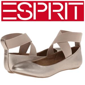 Pantofi de dama Esprit Bennie culoare Champagne