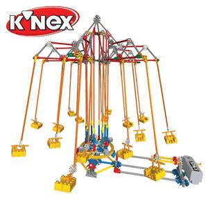 Parc de distractie piese KNEX cu motoras