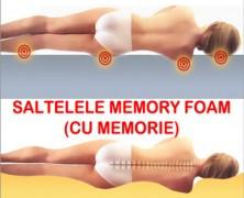 De ce sunt recomandate saltelele Memory Foam spuma cu memorie