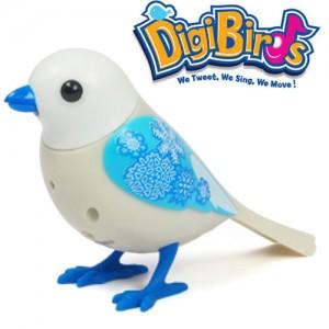 Pasare interactiva DigiBirds Snowflake