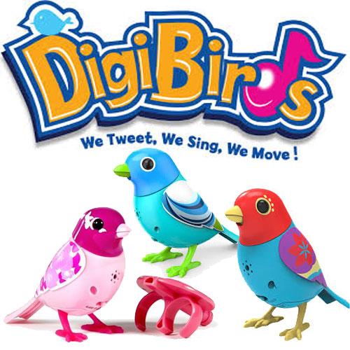 Pasarelele cantatoare interactive DigiBirds de la Nicoro