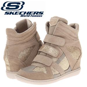 Platforme sport sclipitoare Skechers Plus 3