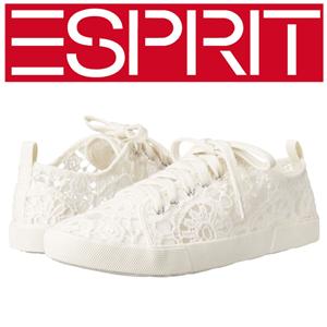 Tenisi fashion cu dantela Esprit Lange