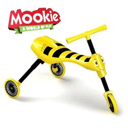 Tricicleta fara pedale pentru calarit Scuttlebug Bumble Mookie