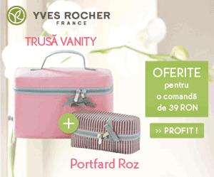 Truse de cosmetice cadou la Yves Rocher Online