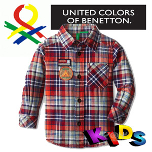 Imbracaminte copii, camasi baieti United Colors of Benetton in Romania