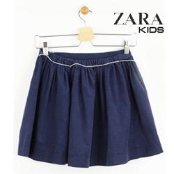 Fusta Zara Kids din bumbac Simple Dark Blue
