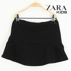 Fusta neagra Zara Tela Black pentru fetite