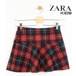 Fusta Zara Kids pentru fetite Shaft Red
