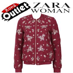Geaca dama Zara Filter Dark Red