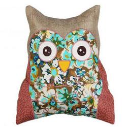 Perna decorativa bufnita Boho Chic Spring Owl 35x40cm