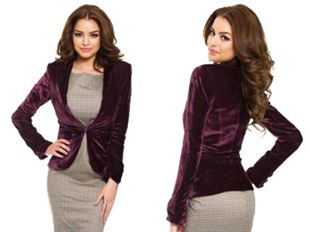 Sacou elegant PrettyGirl Honeyed Purple