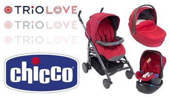 Caruciorul Chicco Trio Love in oferta Nichiduta