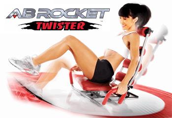 Cateva impresii despre Noul aparat de fitness AB Rocket Twister