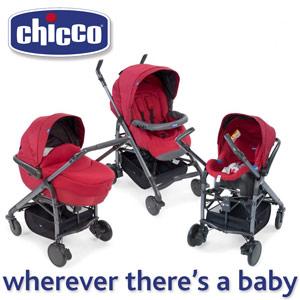 Caruciorul Chicco Trio Love de la nastere la 3 ani