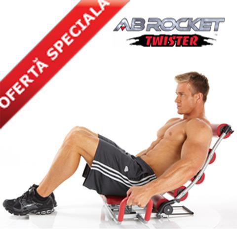 Cateva impresii despre Aparatul Fitness AB Rocket Twister – scurt review