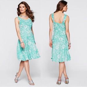 Rochie de vara verde feminina