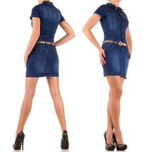 Rochie mini din jeans