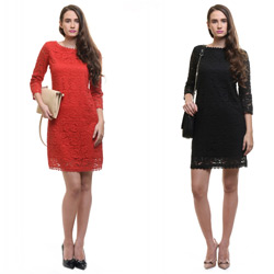 Rochie office bumbac 100% la eMAG Fashion