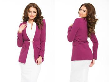 Sacou office pentru femei PrettyGirl Highness Purple