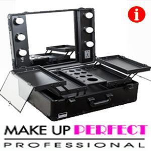 Statii si masute profesionale portabile de machiaj (make-up salon)