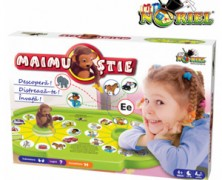 Jocul Maimu Stie Noriel pentru copii 4-5 ani