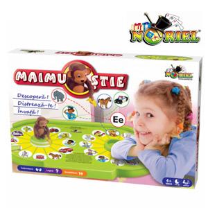 Joc pentru copii 4-5 ani Maimu Stie Noriel