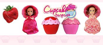 Papusi Briose cu miros de capsuna Cupcakes Liza si Marilyn la Nicoro