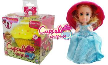 Papusi Briose jucarii pentru fetite Cupcakes Surprise