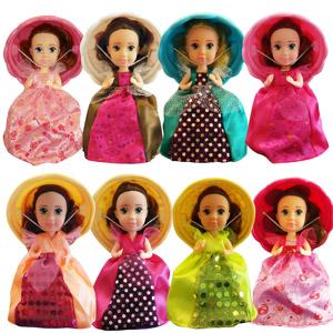 Papusile Briose Cupcakes cu miros delicios. Jucarii Printese cu rochii si palarii pentru fetite