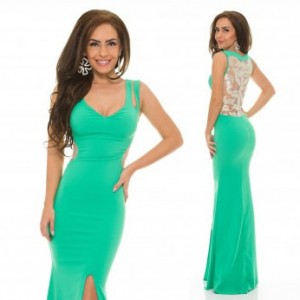 Rochie LaDonna After Party Green