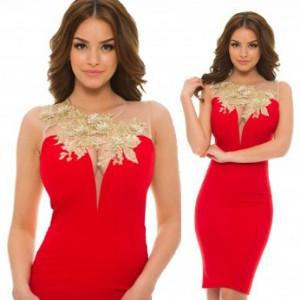 Rochie LaDonna Bright Lounge Red