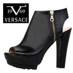 Sandale dama Versace V1969 din piele naturala