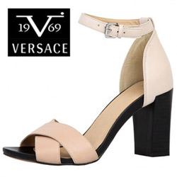 Sandale Versace V1969 Clothilde din piele
