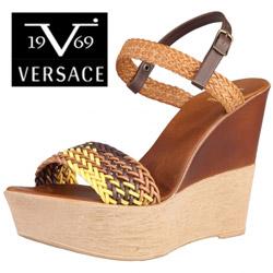 Sandale dama cu toc Versace V1969 Emily