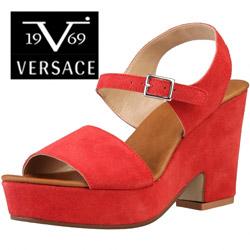 Sandale dama Versace V1969 Audrei din piele naturala