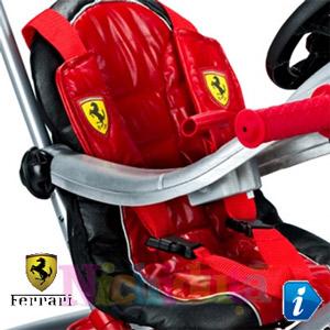 Tricicleta Ferrari Rosie pentru baieti calitate premium