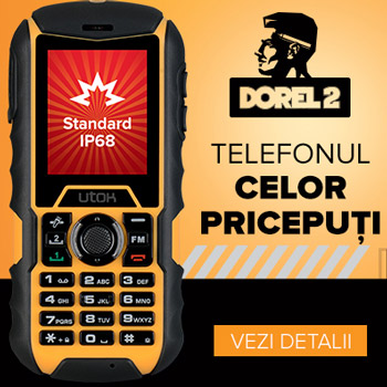 UTOK Dorel V2 cel mai ieftin telefon rezistent la apa si socuri
