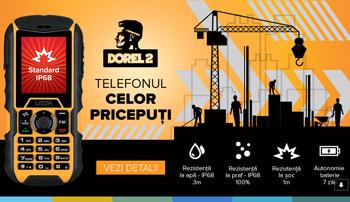 UTOK Dorel 2 Cel mai ieftin telefon rezistent IP68
