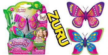 Set 2 bucati Fluturasul magic solar Pink Princess si Green Tip