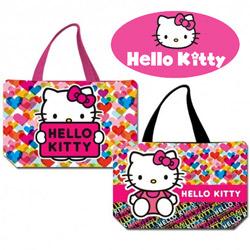 Geanta de plaja Hello Kitty Heart