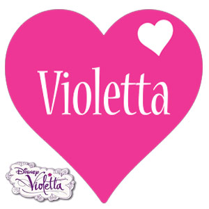 Set Jurnal cu lacat I LOVE VIOLETTA