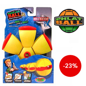 Disc transformabil in minge Phlat Ball Junior Metalic FX