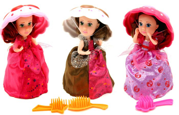 Papusi Briose Cupcakes Surprisez la Nicoro
