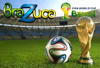 Mingea de fotbal a Campionatului Mondial 2014 ADIDAS BRAZUCA