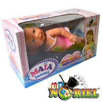 Papusa Maia care inoata - Jucaria interactiva Noriel