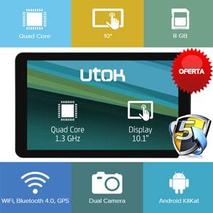 Review Tableta UTOK 1005Q QuadCore de 10 inch. Ce parere aveti?