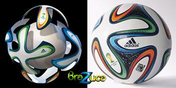Mingi de fotbal Adidas Brazuca