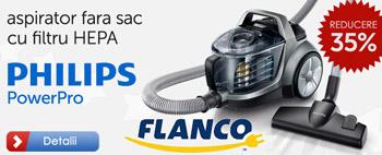 Reduceri de preturi la Aspiratoarele Clasa A Philips la FLANCO